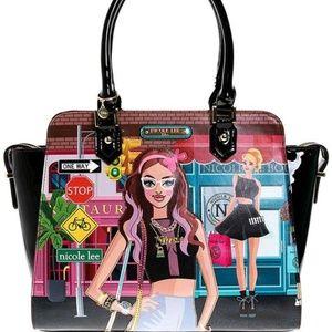 Women's Designer Satchel Handbag by Nicole Lee